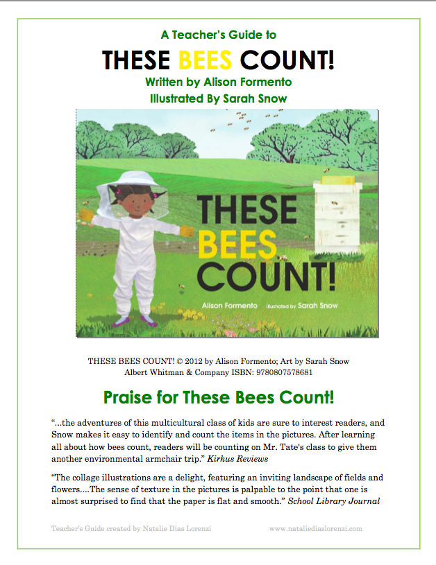 These Bees Count Guide Alison Ashley Formento