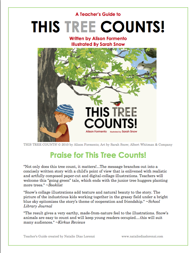 This Tree Counts Guide Alison Ashley Formento